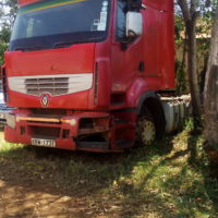 MOTOR VEHICLE IN OUR YARD